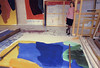 Helen Frankenthaler in her NYC studio