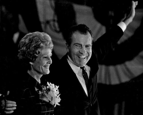 Pat and Richard Nixon 1972