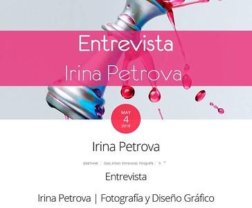 My interview in Spanish on http://goethive.com/irina-petrova/