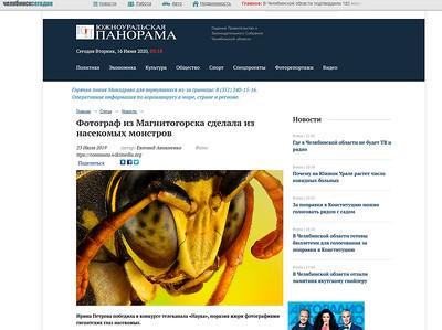 Фотограф из Магнитогорска сделала из насекомых монстров