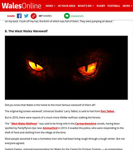 The West Wales Werewolf