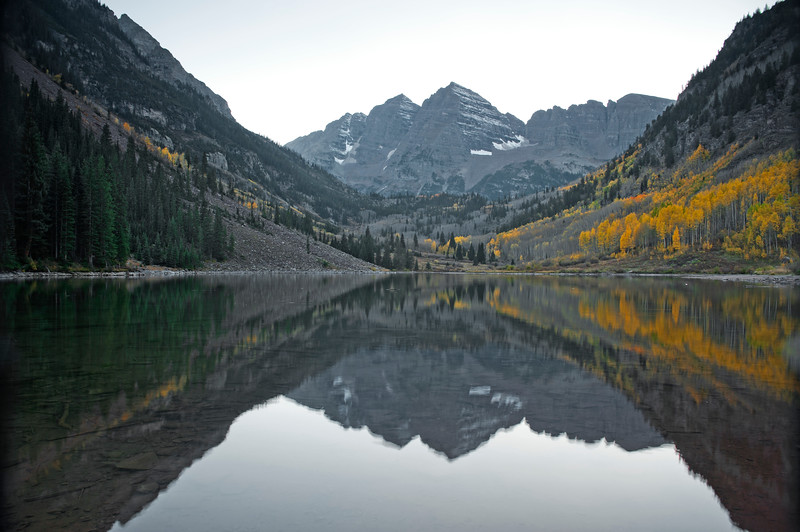 Maroon Lake, Maroon Bells Wilderness, Colorado