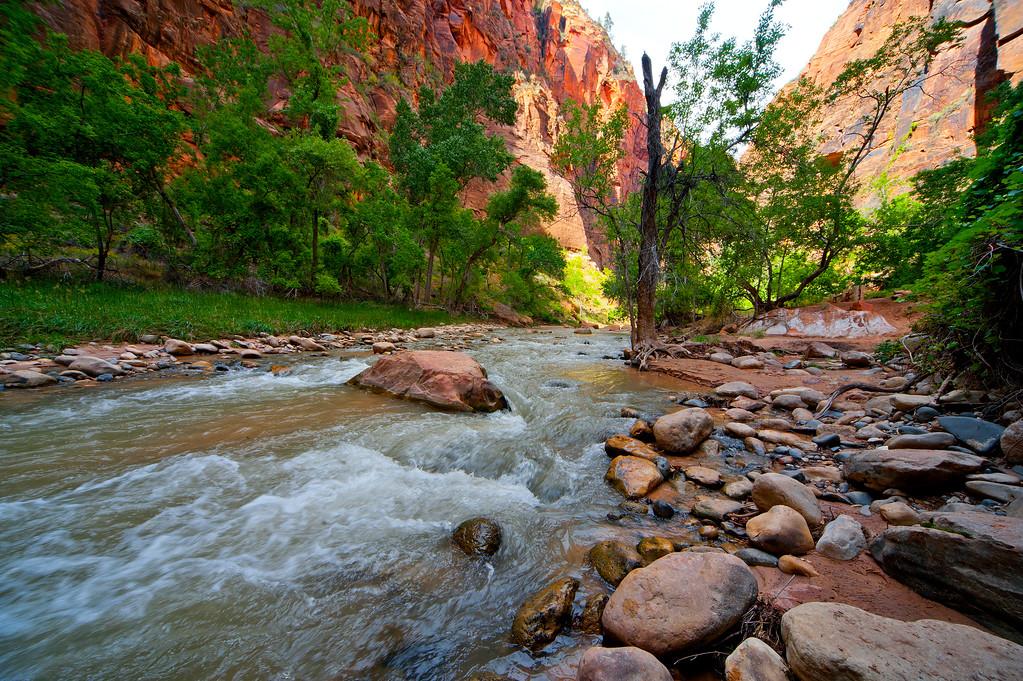 River Walk, Zion NP, Utah