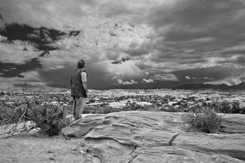 B&W conversion, for Farin Manian, Arches NP