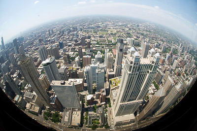 Skyline from within. From Sears Tower-Chicago