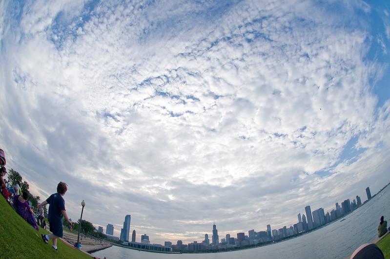 Sky and the Skyline-Chicago
