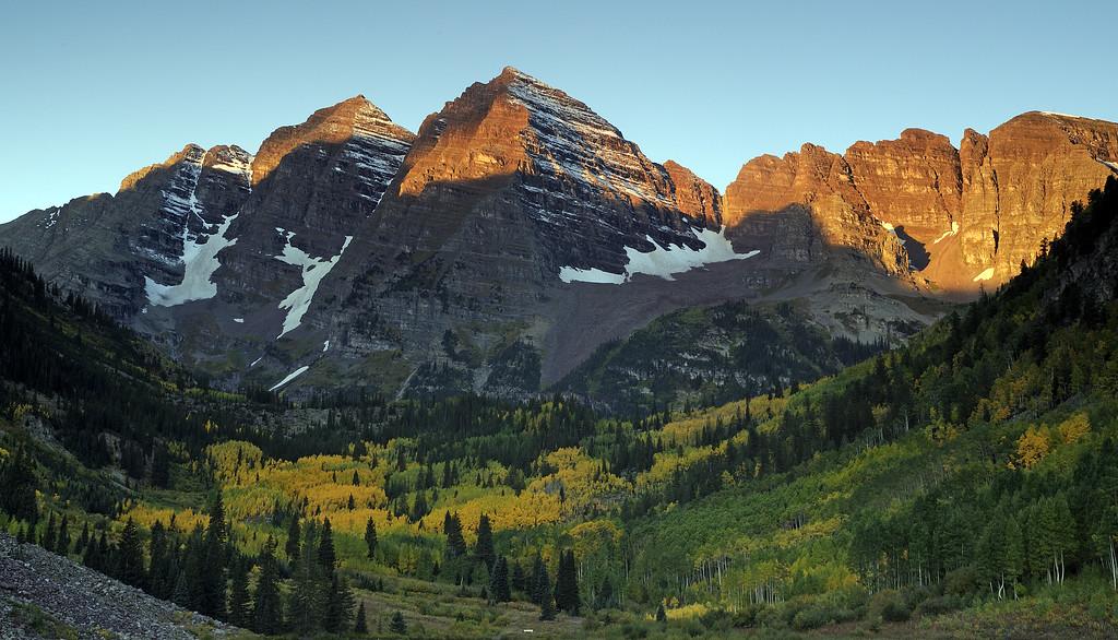 Maroon Bells Mountains