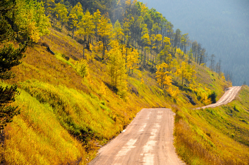 Dirt Road to Piney Lake, Vail, CO