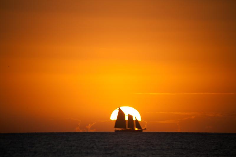 Sun Set1- Key West- Fl