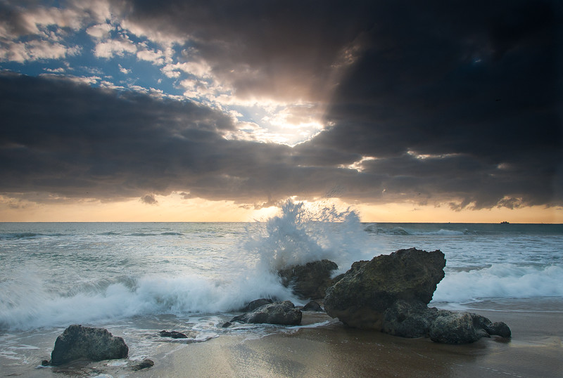 Waves and Rocks- South Florida