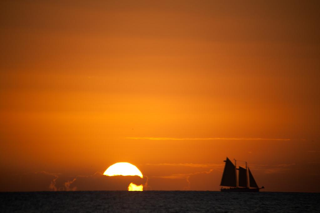 Sun Set3- Key West- Fl