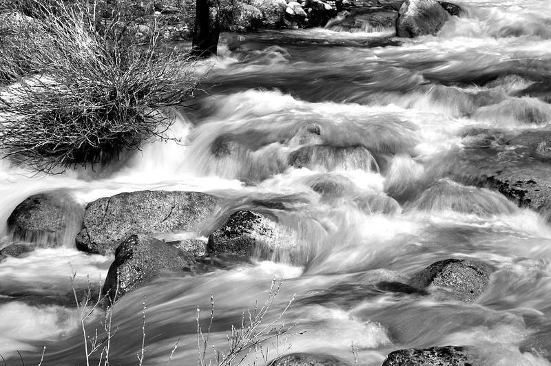 Merced River, Nevada Falls, Yosemite NP