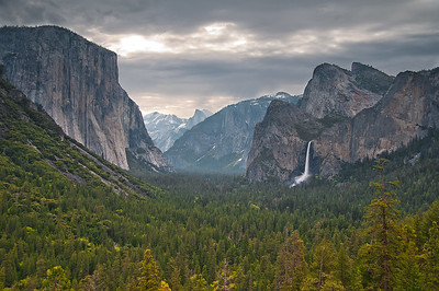 Tunnel View, Yosemite NP, California