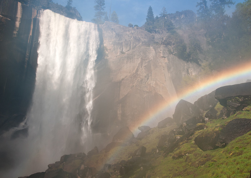 Rainbow, Vernal Falls, Yosemite NP