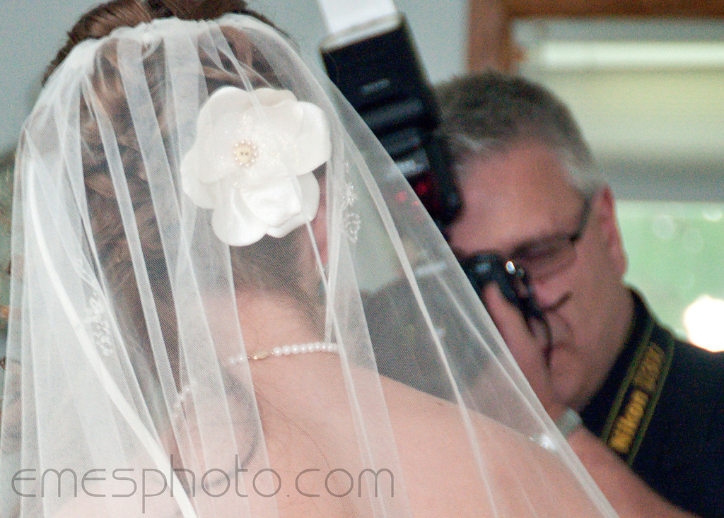 "Capturing the ""WOW"" of a beautiful bride. Copyright © 2011 Alex Emes"