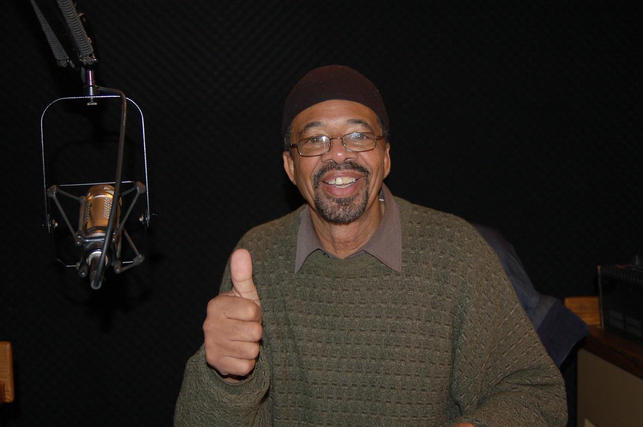 Roland Bynum, legendary radio personality.