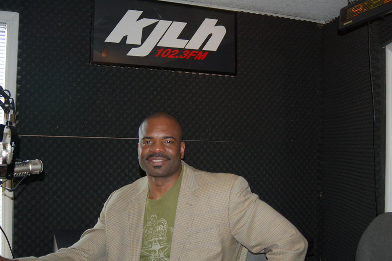 Dr. Bill Releford, of B.U.T.T.A., a hip new cotton clothing line of products made in Africa.Photo by Isidra Person-Lynn