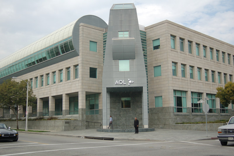 AOL has state of the art TV studios right there in Beverly Hills.  Who knew?