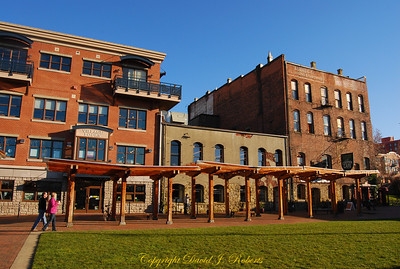 Village Green in Fairhaven, Bellingham WA