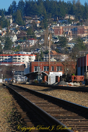 Railway Station in Fairhaven, Bellingham, WA