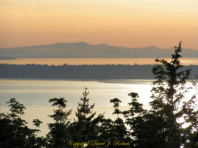Bellingham Bay with the Lummi Reservation in the background