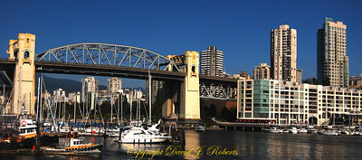 Granville Bridge from Granville Island