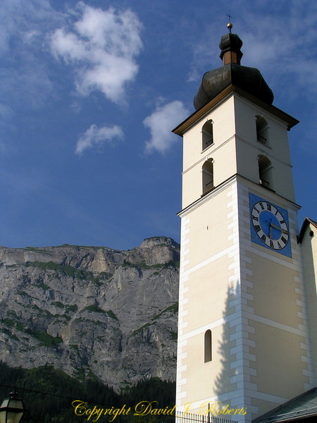 Flim church, Switzerland