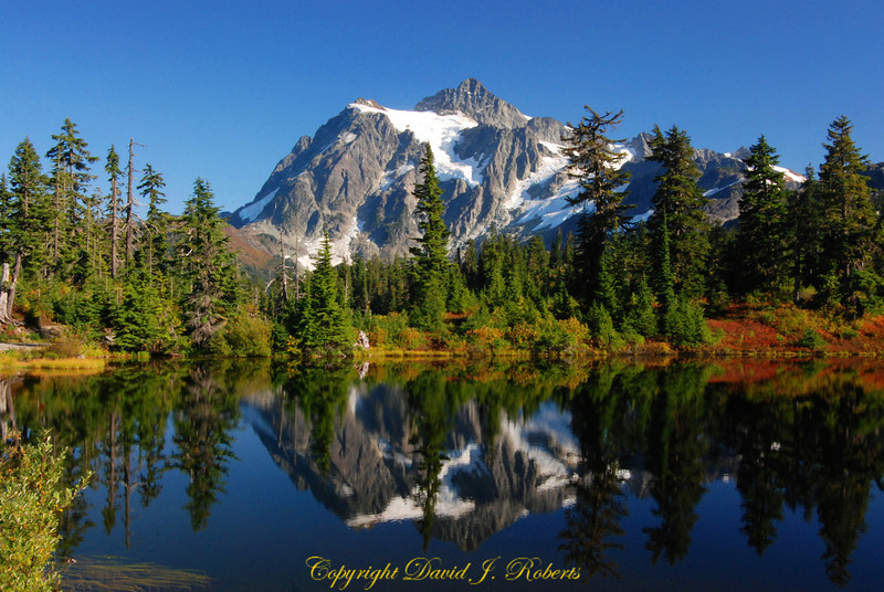 Mount Shuksan Lower Reflection Lake, Whatcom County, Washington