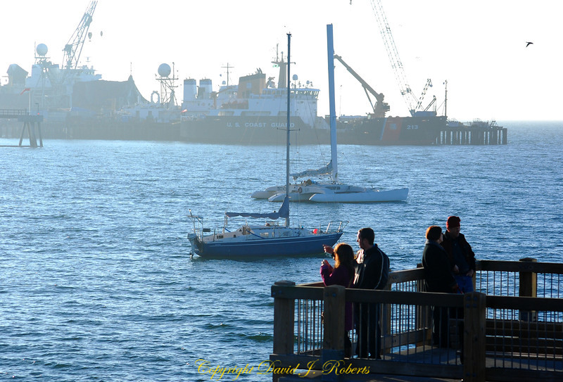 View from Taylor Dock of Fairhaven Harbor, Bellingham WA
