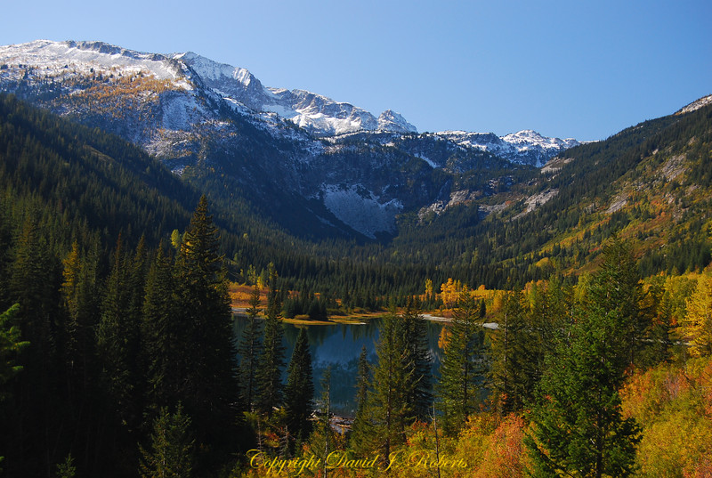 Beautiful Hart Lake just a few miles up the trail from Holden Village in the Cascade Mountains