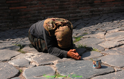 Beggar in Rome