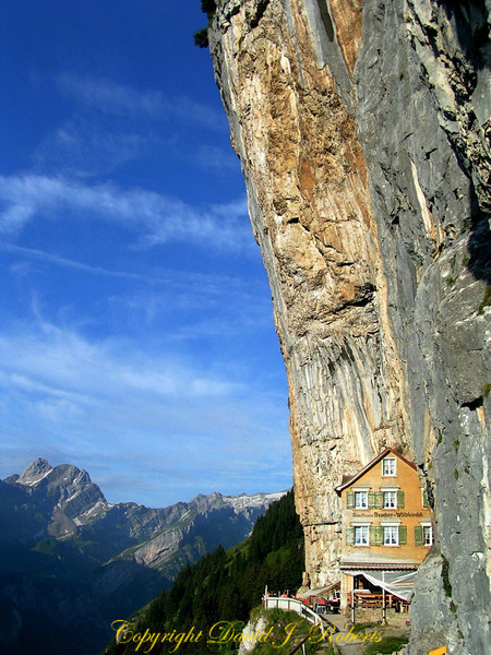 The Ebenalp Hotel, Appenzell, Switzerland