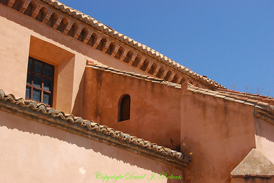 Beautiful roof lines, Ronda, Spain