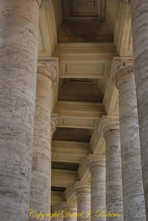 Bernini's Arch at the Vatican, Rome