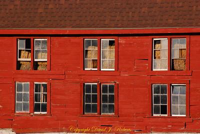 Old red barn, Hemi Road, Whatcom County Washington