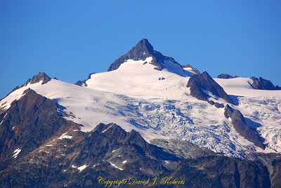 Pinnacle south of Mount Baker, WA