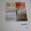 We share what we have. This is frequently said at Leap Schools of Science and Maths in Cape Town, South Africa where I was a volunteer in July and August 2009.<br /> One-of-a-kind, donated to Teach With Africa silent auction 2010, where it raised $125