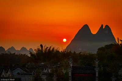 GAReiner - Sunset at Bayan Tree Resort
