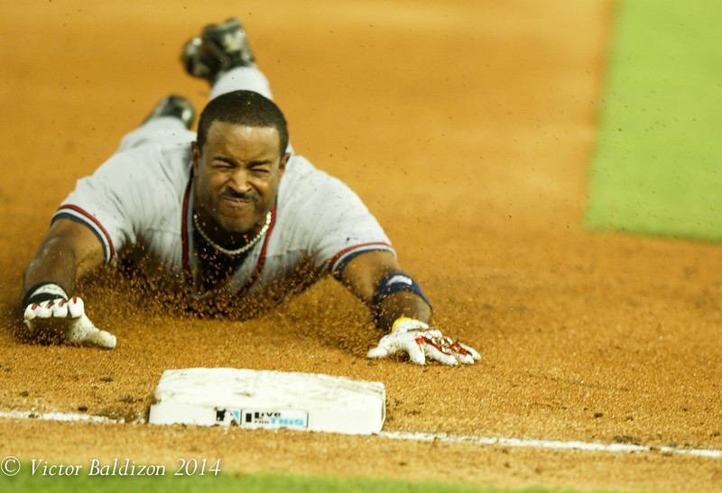 Brian Jordan Braves Baseball