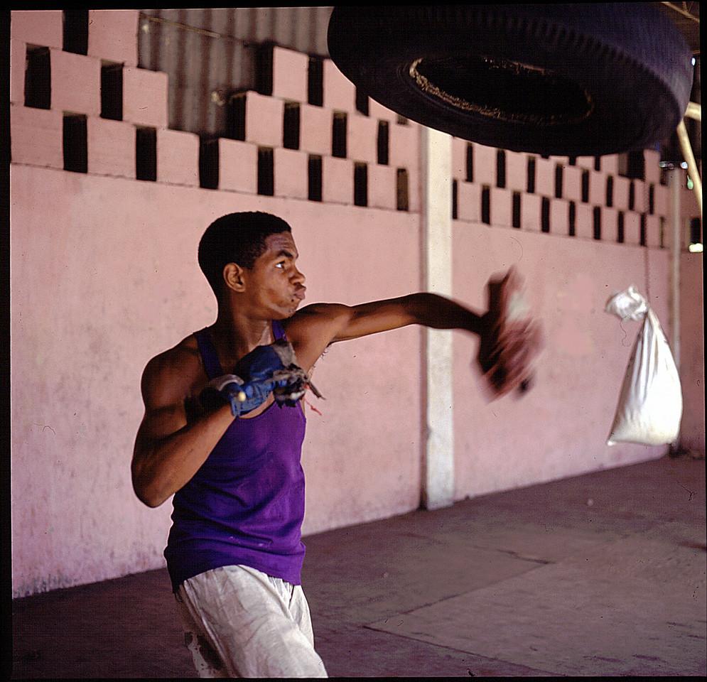 Cuban Boxing Schooll Santiago Cuba