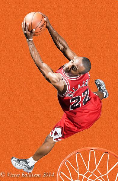 NBA Rookie shoot