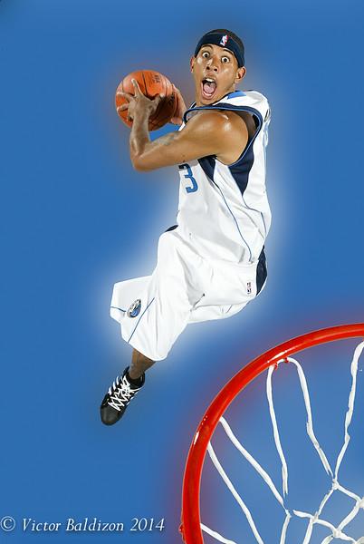 Harris NBA rookie shoot