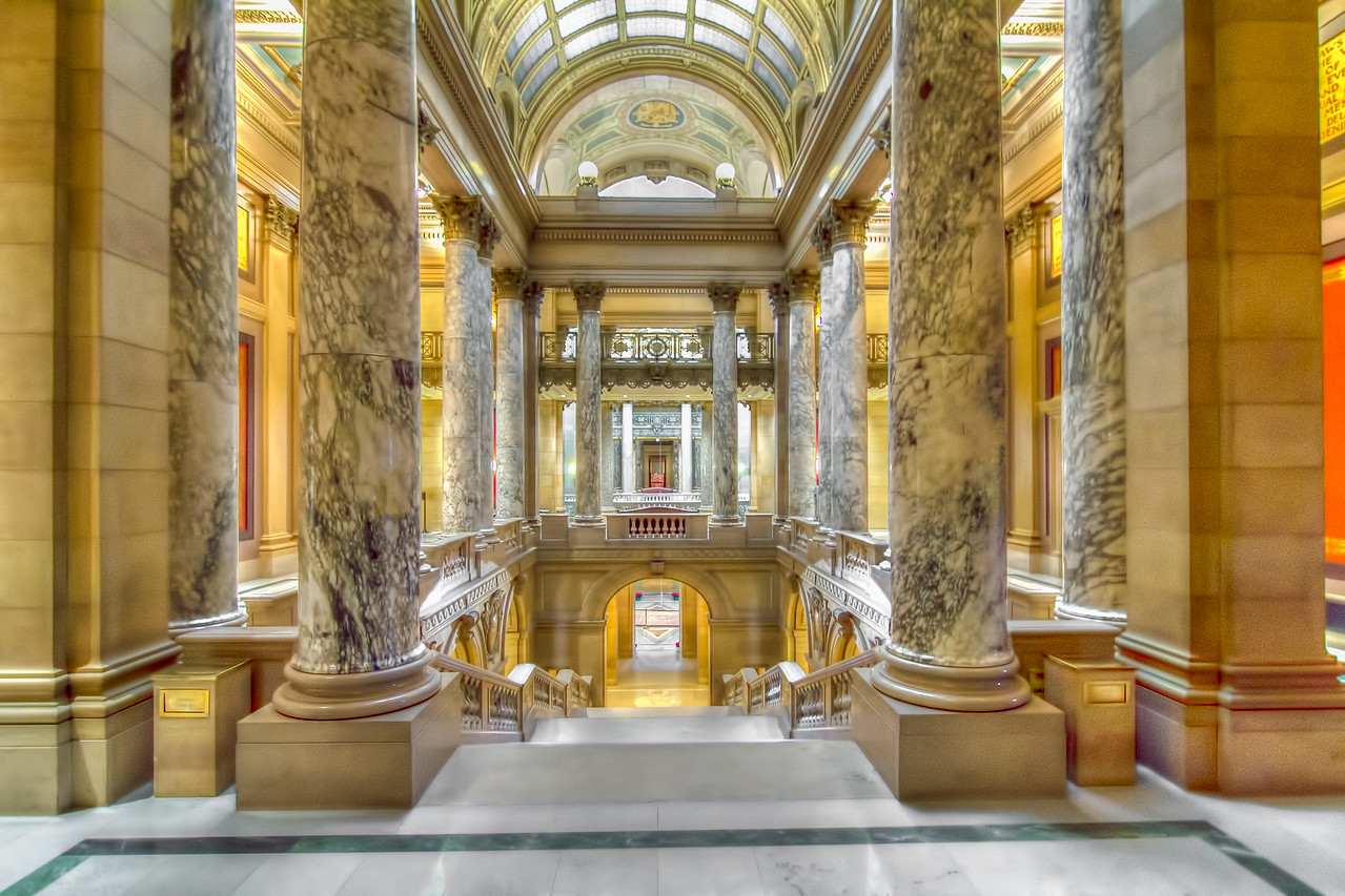 Inside State Capitol, St Paul, MN<br /> <br /> All rights reserved by Saibal Ghosh.