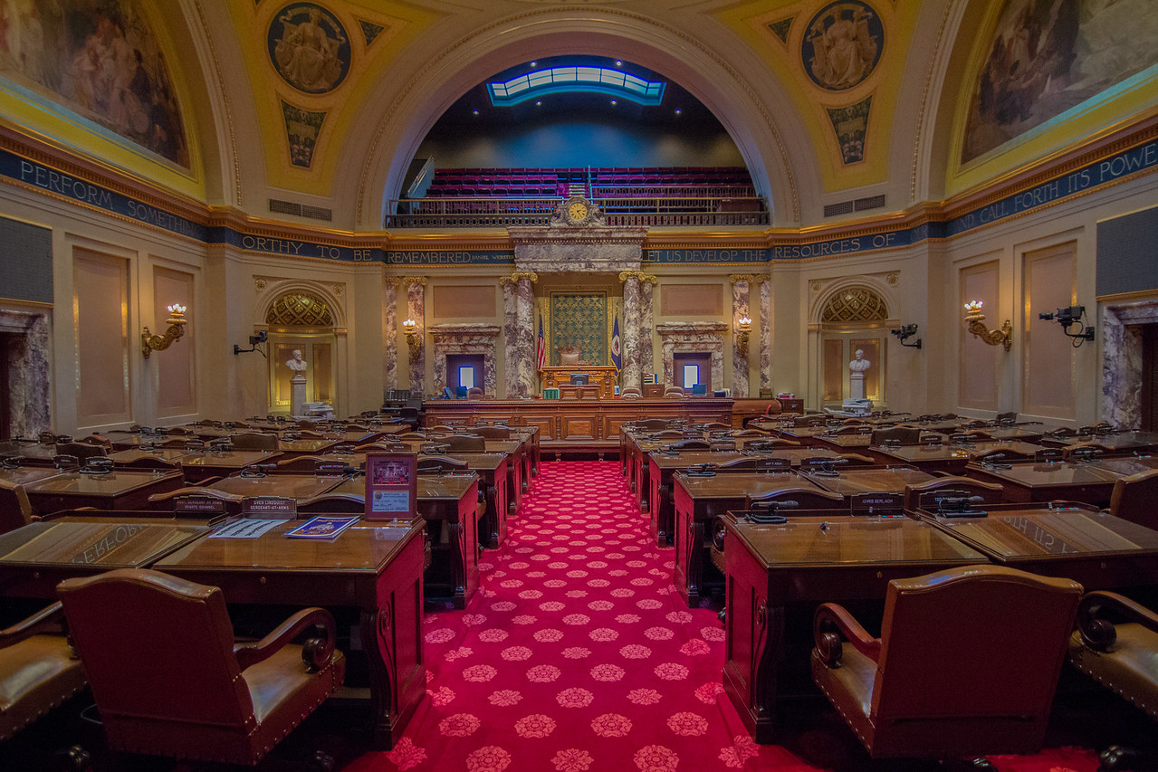 Inside State Capitol, St Paul, MN.<br /> <br /> All rights reserved by Saibal Ghosh.