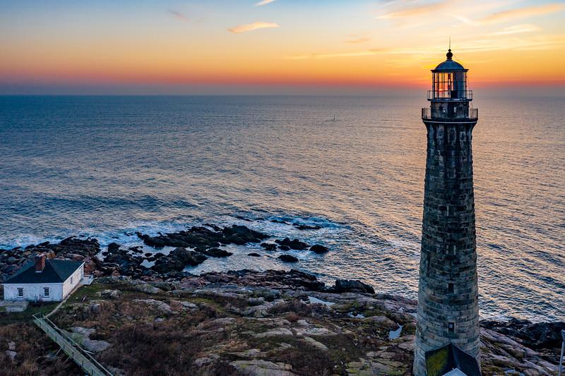 Massachusetts-Rockport-Thacher Island Twin Lights