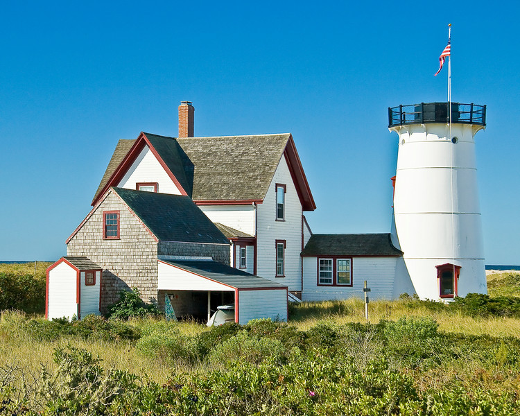 MA-CAPE COD-CHATHAM-STAGE HARBOR LIGHTHOUSE