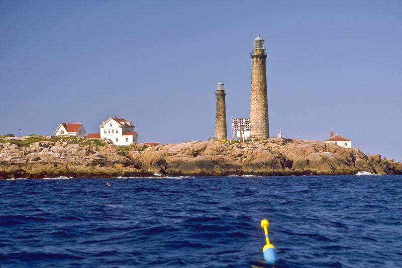 MA-ROCKPORT-THATCHER'S ISLAND-TWIN LIGHTS