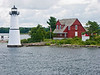 NY-FISHER'S ISLAND-ROCK ISLAND LIGHT