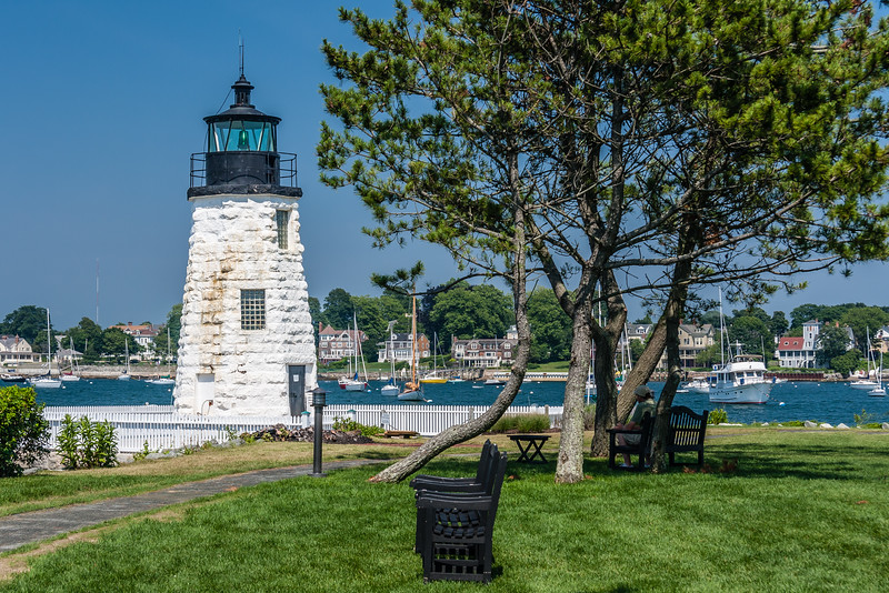 RI-NEWPORT-GOAT ISLAND LIGHT