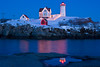 ME-YORK-NUBBLE LIGHT aka CAPE NEDDICK LIGHT-CHRISTMAS LIGHTS
